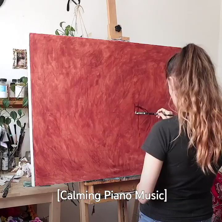 Painting looks so, so easy when @lenadanya does it. →