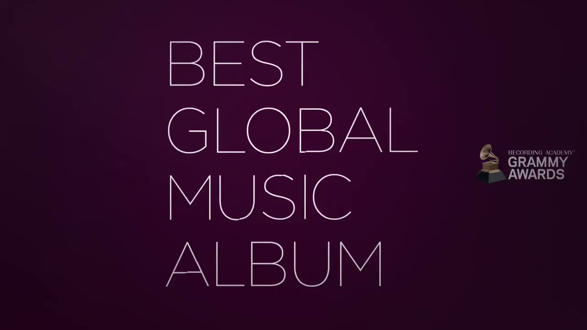 Congratulations 63rd #GRAMMYs Best Global Music Alum nominees: @Antibalas, @burnaboy, @bebelgilberto, @ShankarAnoushka, and @Tinariwen:
