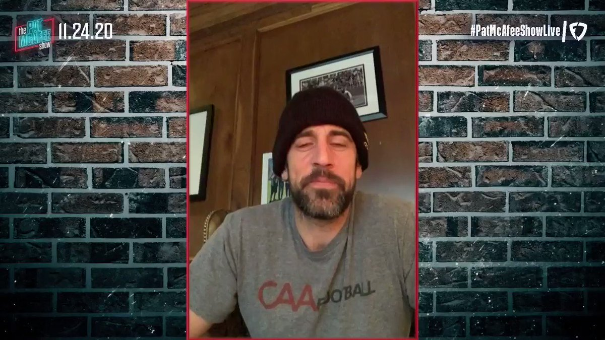 """""""I think the 3rd quarter really hurt us. It doesn't get enough examination...  I always feel like the 1st half of the 3rd quarter will show you how the games going & who's going to win the game""""  @AaronRodgers12 on the OT loss to the #Colts #PatMcAfeeShowLIVE"""