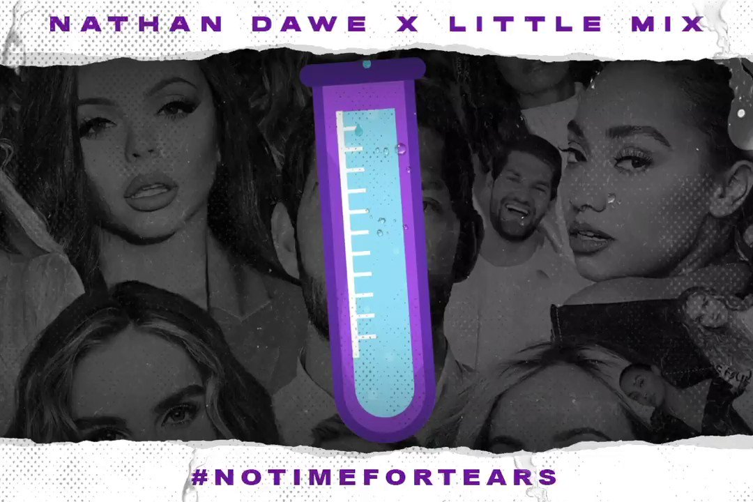 Unlock a snippet of my new single with @LittleMix by posting the hashtag #NoTimeForTears and filling up our tear-o-meter:  💧