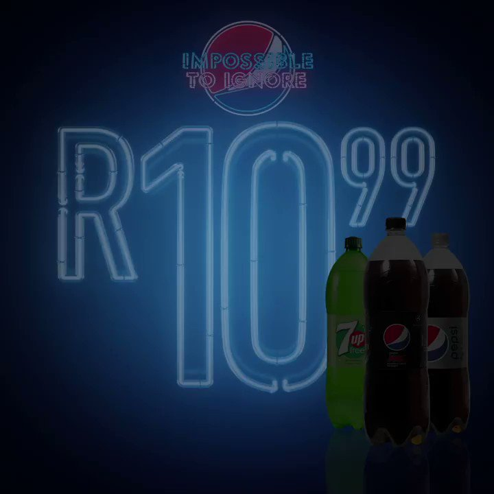 Love a good deal that's #ImpossibleToIgnore? Well surprise, surprise, this one found YOU!   Buy any 2L Sugar Free Pepsi cooldrinks for only R10,99!   (Deal Includes Pepsi MAX, Pepsi Light, 7Up Free.) Available for a limited time only in any Gauteng @CheckersSA store https://t.co/TQVyvShtla