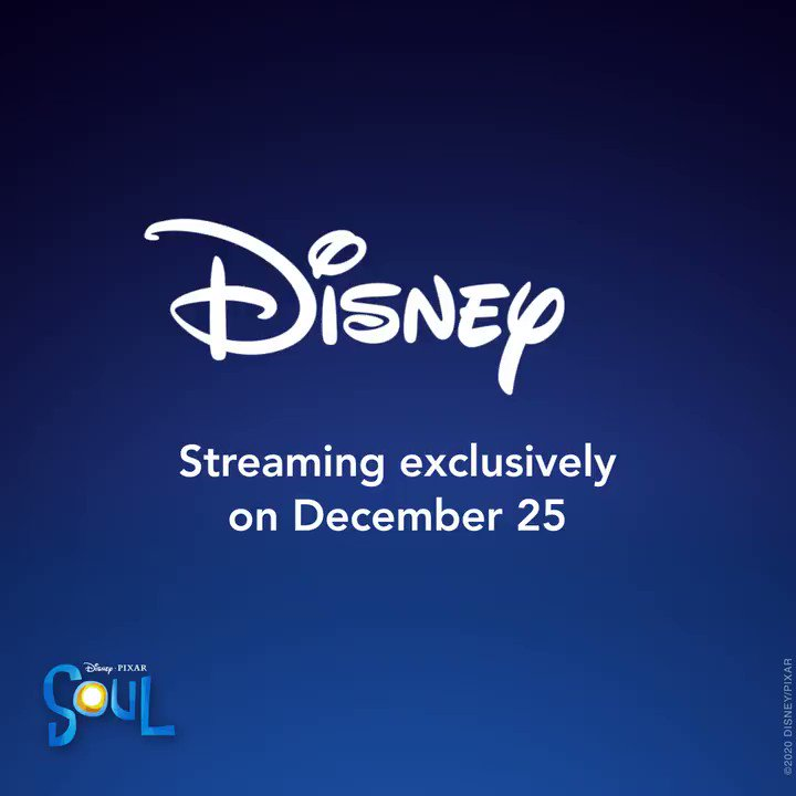 Discover the journey of a lifetimeon December 25 with #PixarSoul, coming exclusively to Disney+ in just one month!🎄 🎶 ✨