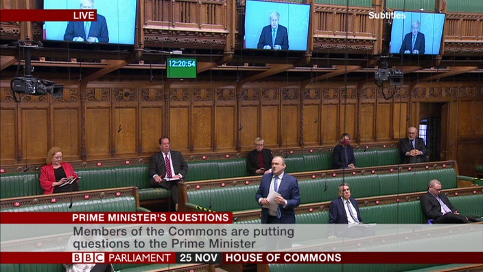 """I asked the PM to support unpaid carers,"" says Lib Dem Ed Davey, ""the ministers haven't found that money... but have found hundreds of millions for contracts handed out to Conservative Party cronies""  PM says ""neediest"" families are being supported  #PMQs"