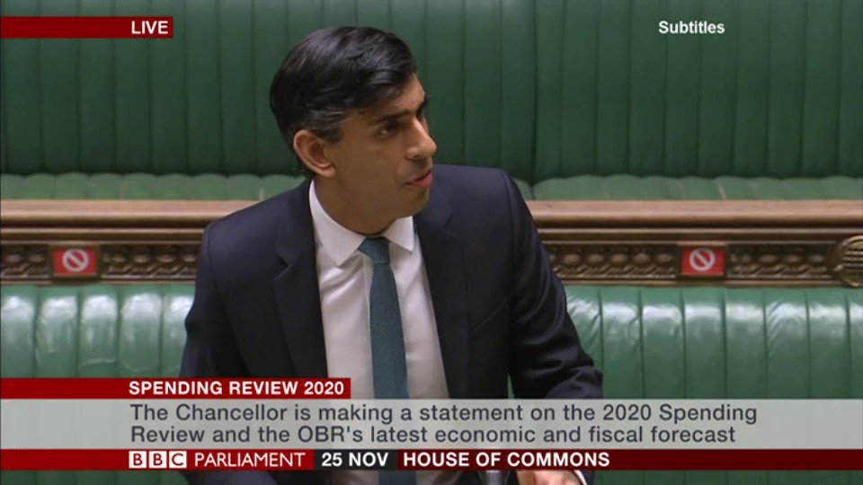 """Our economic emergency has only just begun""   Chancellor Rishi Sunak says his immediate priority is to ""protect people's lives and livelihoods"""