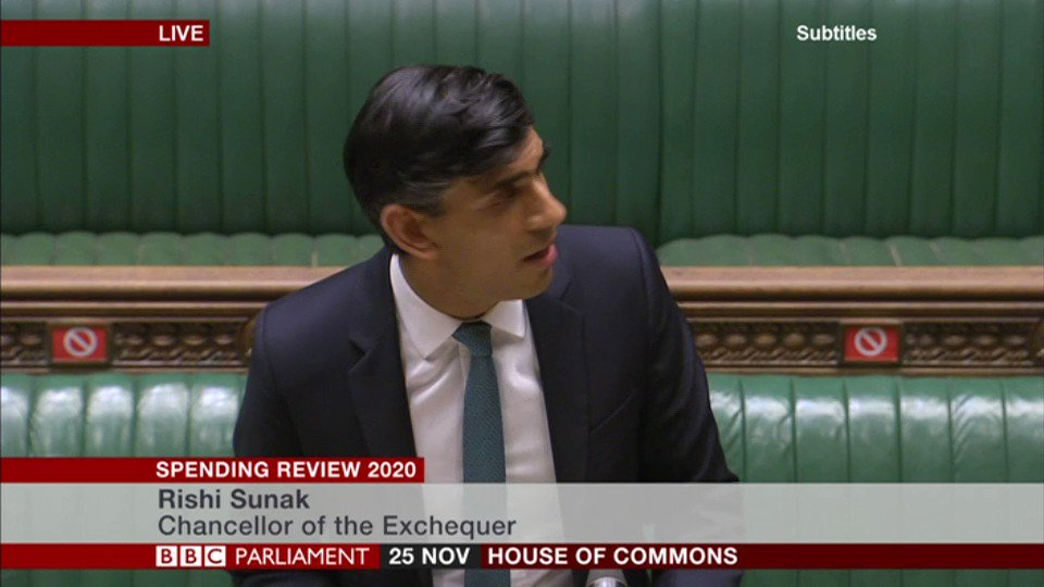 """We will provide a pay rise to over a million nurses, doctors and others working in the NHS""  Chancellor Rishi Sunak announces three steps for public sector workers' pay for next year"