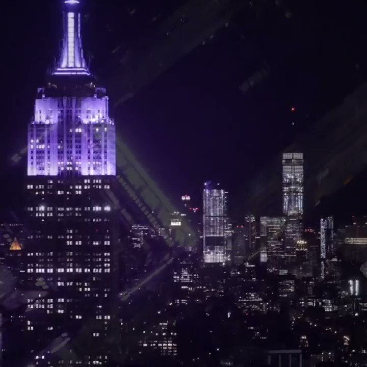 Who remembers when the Empire State Building lit up in true Phantom style?! #PhantomBroadway