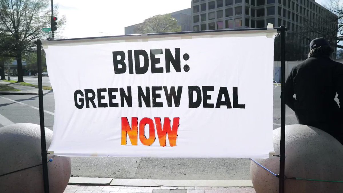 President-Elect @JoeBiden, our communities delivered you the presidency. Now it's time for you to fight for us by embracing a #GreenNewDeal, millions of good-paying union jobs, and an economy that puts people before corporations. #BidenBeBrave