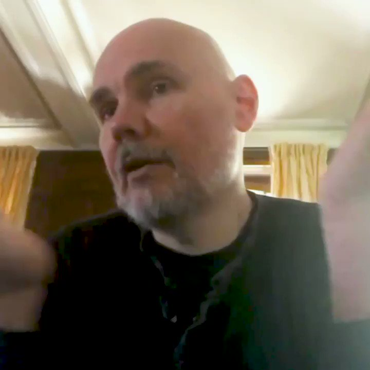 #CYR is coming…  @Billy Corgan of @SmashingPumpkin talks new music with @zanelowe.  Catch it: