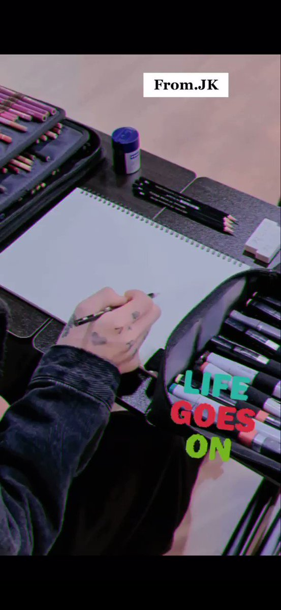 [INFO] 📰  El video de Jungkook de Life Goes On ya está disponible en Tik Tok! 💜  #BTS #방탄소년단 #LifeGoesOn