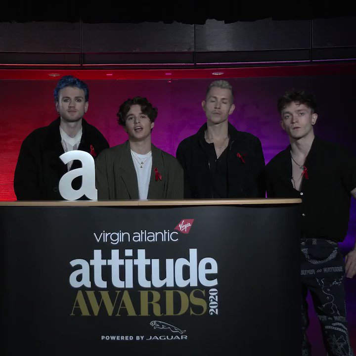 .@TheVampsband will be performing at the 2020 @VirginAtlantic #AttitudeAwards, powered by @JaguarUK! 🌈🙌  Watch from 9pm GMT on #WordAidsDay Tuesday 1st December:   @TheVampsJames @TheVampsCon @TheVampsBrad @TheVampsTristan
