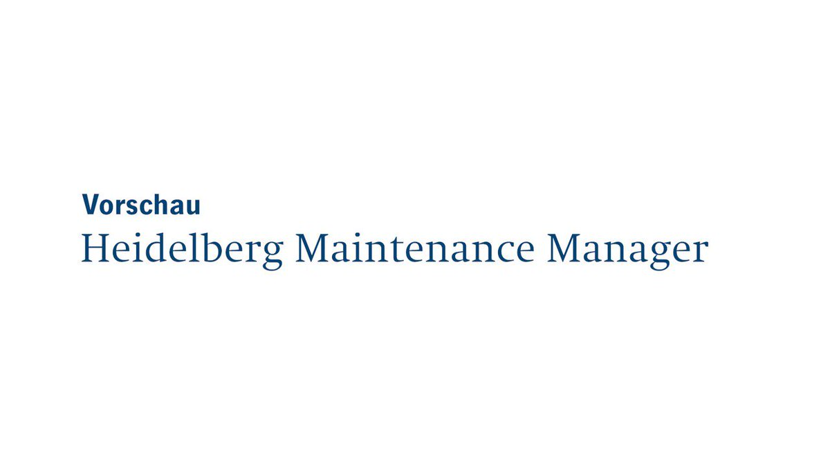 Image for the Tweet beginning: NEUE mobile App: Maintenance Manager.