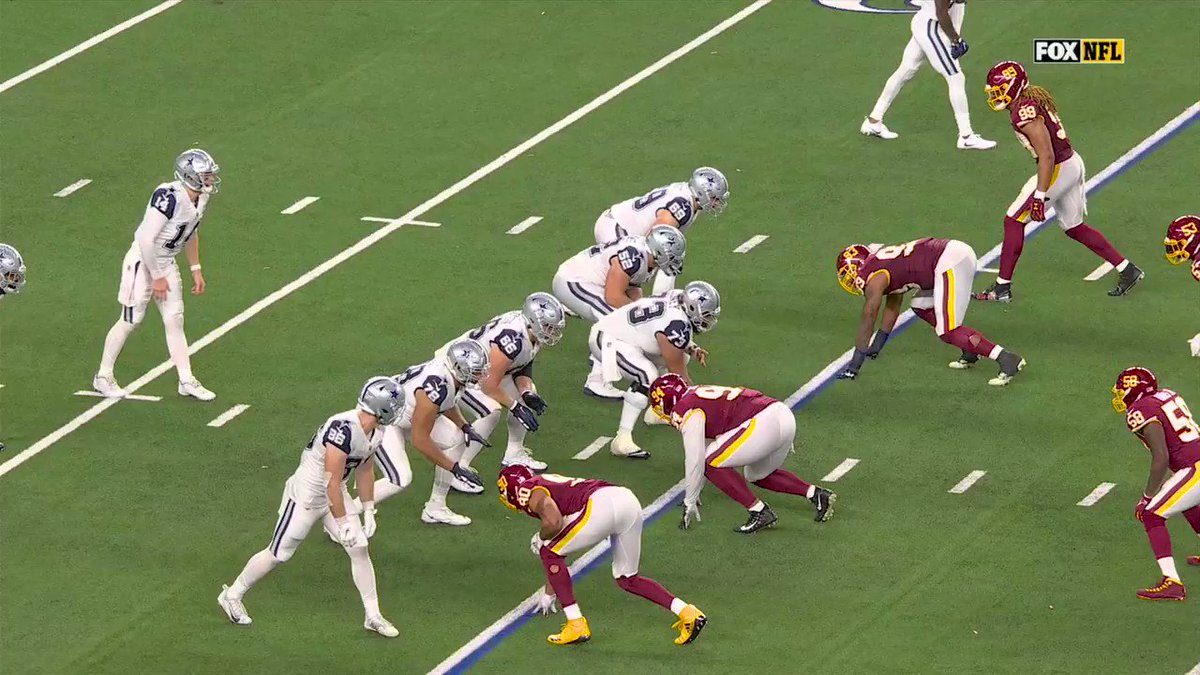 .@_sweat9 just did that. What a play.  Touchdown, @WashingtonNFL!  📺: #WASvsDAL on FOX 📱: NFL app // Yahoo Sports app: