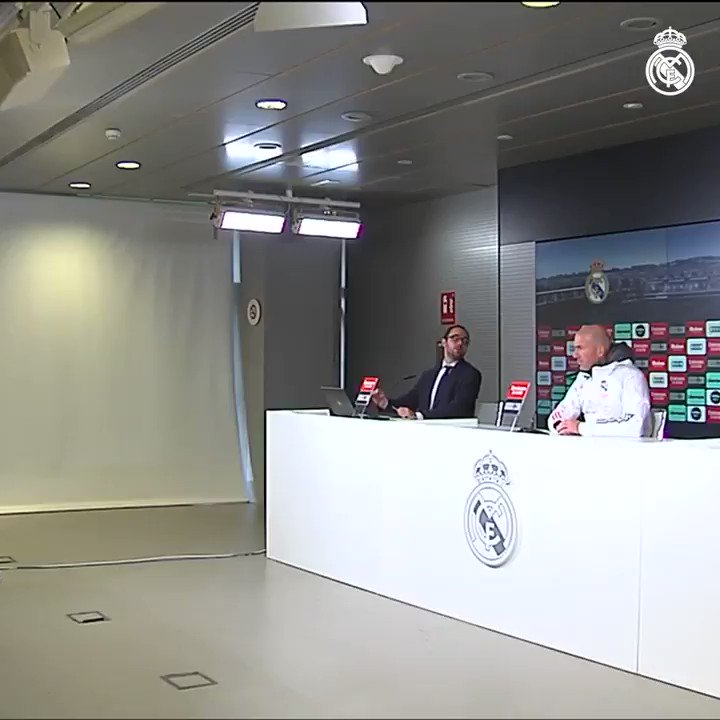 💬 Zidane: ''We have to stay on this path and think about how we can get better as a team.'' #RMCity | #HalaMadrid