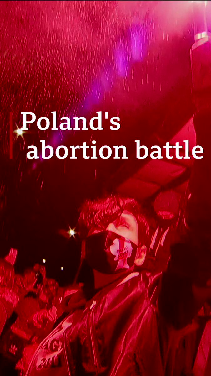 'This is war'  Huge protests erupt in Poland as the government attempts to ban nearly all abortions