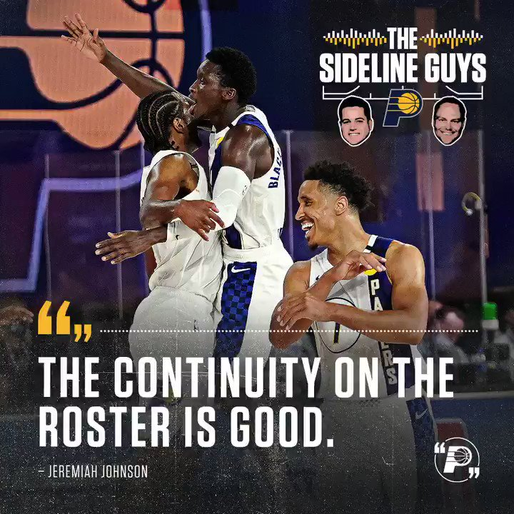 Hosts @PatBoylanPacers and @JJFSINDIANA discuss our Draft, Free Agency, and @PacersKev's media availability on the latest Sideline Guys podcast.  Listen and subscribe! 🎙 Soundcloud: https://t.co/NgfnMykPd5 Spotify: https://t.co/I9VfvhUue1 Apple: https://t.co/uPLnyzNAXk https://t.co/HkhUgC4iru