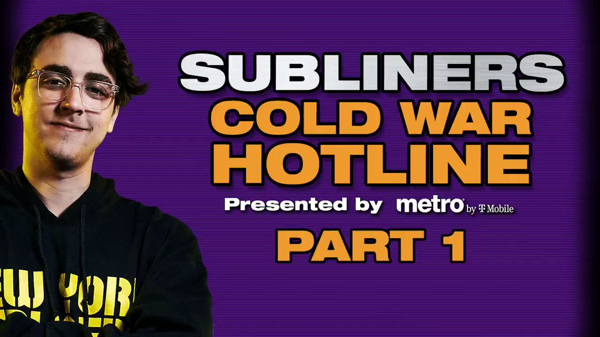 New York Subliners - The Subliners #ColdWar Hotline, presented by @MetrobyTmobile, had so many voicemails that 2 videos were made. Get the best attachments, maps and strategies from the New York squad below... and be on the lookout for part 2 soon. Did your question make the cut?