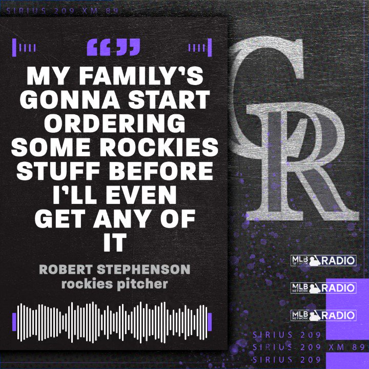 .@robsteev44s family has some Black Friday shopping to do after his trade to the #Rockies.