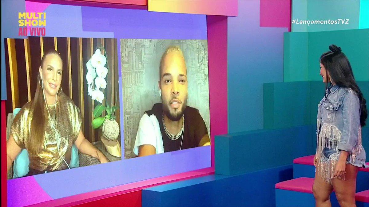 Receber a ligação da @ivetesangalo para um FEAT deve ser um sonho, né @mczaac? 💕 🤧 #LançamentosTVZ