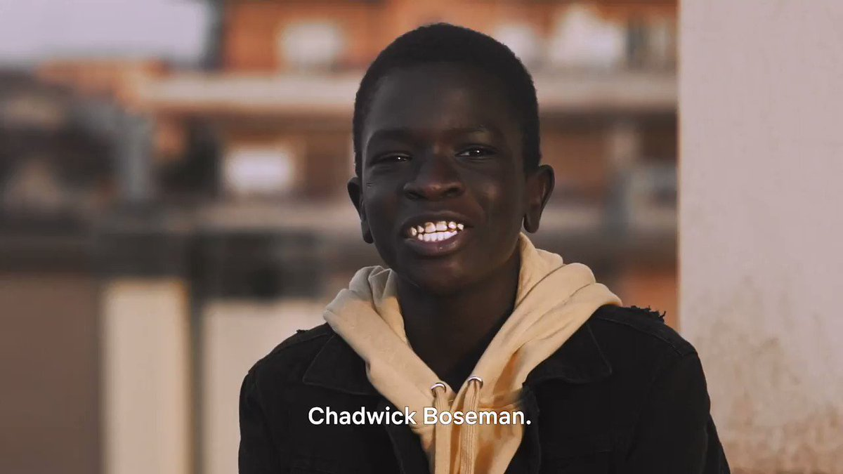 THE LIFE AHEAD star Ibrahima Gueye shares how he was inspired by Chadwick Boseman.