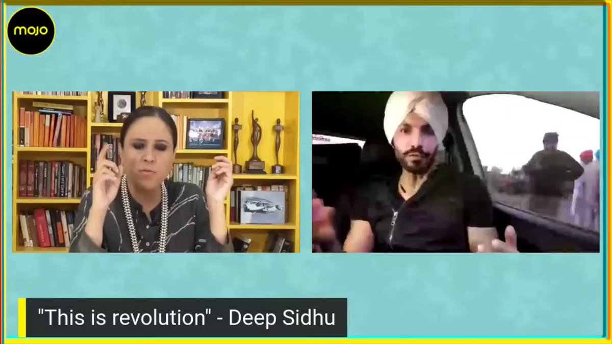 Set off to interview Deep Sidhu, Punjab actor with great expectations after seeing him in viral video negotiating at the barricades. Ended up in a massive fight. I believe his words have really hurt the Farmers Cause. Full conversation on @themojo_in here: