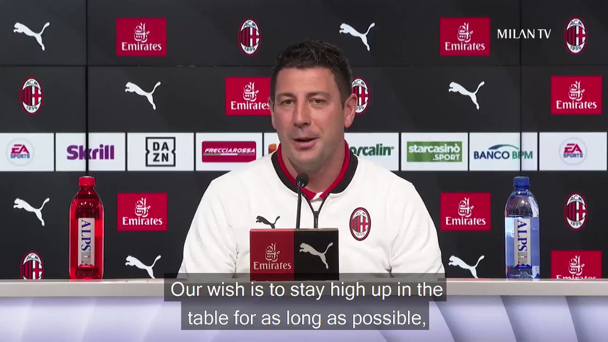 🗣️ The best bits of Coach Bonera's presser ahead of our home game vs Fiorentina ⏪     🗣️ Il meglio della conferenza di Daniele Bonera alla vigilia di #MilanFiorentina ⏪  #SempreMilan
