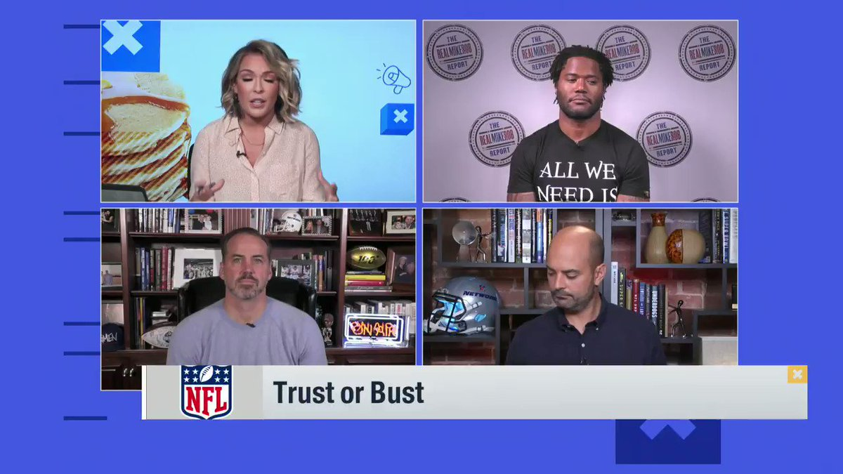 ✅ Trust or Bust? ❌   @ColleenWolfe: Cardinals @MikeGarafolo: Dolphins @RealMikeRob: Raiders @ShaunOHara60: Rams