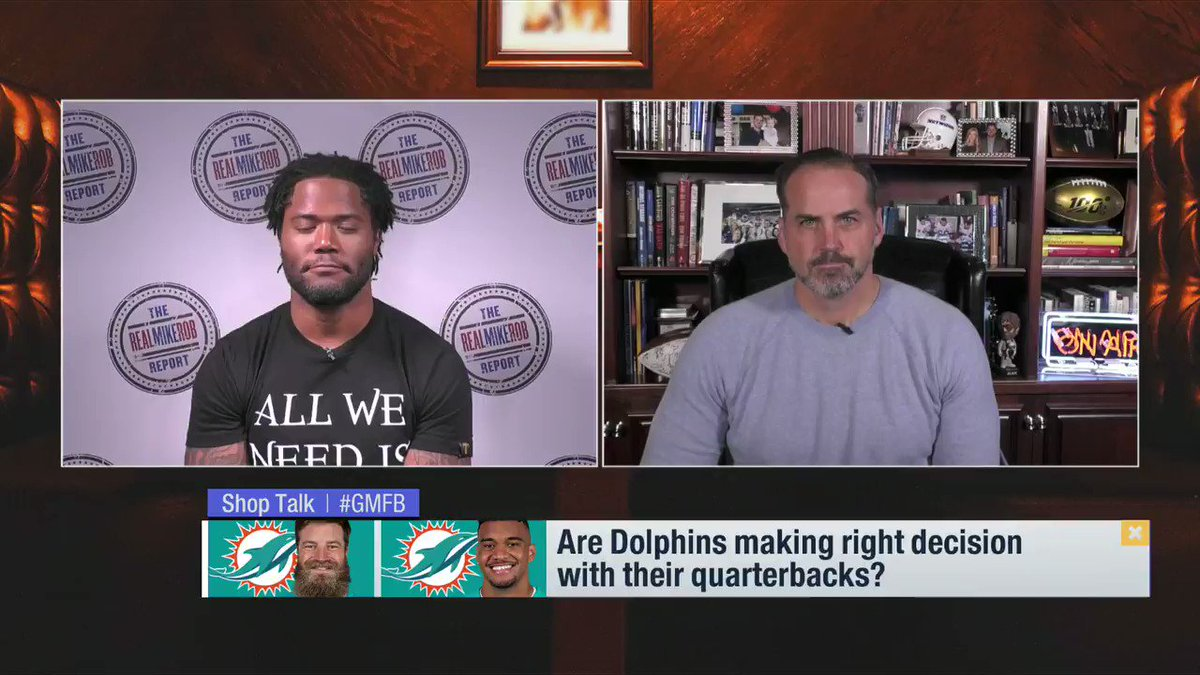 Are the #Dolphins handling their QB situation correctly? 🐬   @ShaunOHara60 and @RealMikeRob have some thoughts…