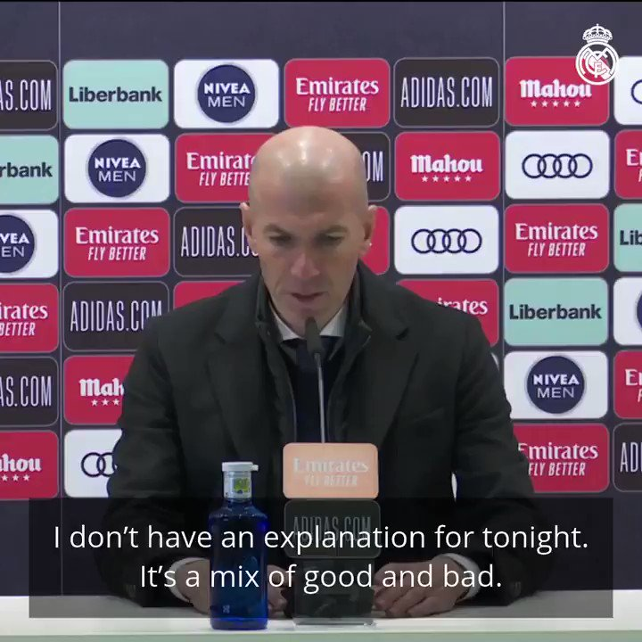 💬 This is what Zidane had to say following our match against @alaveseng. #HalaMadrid