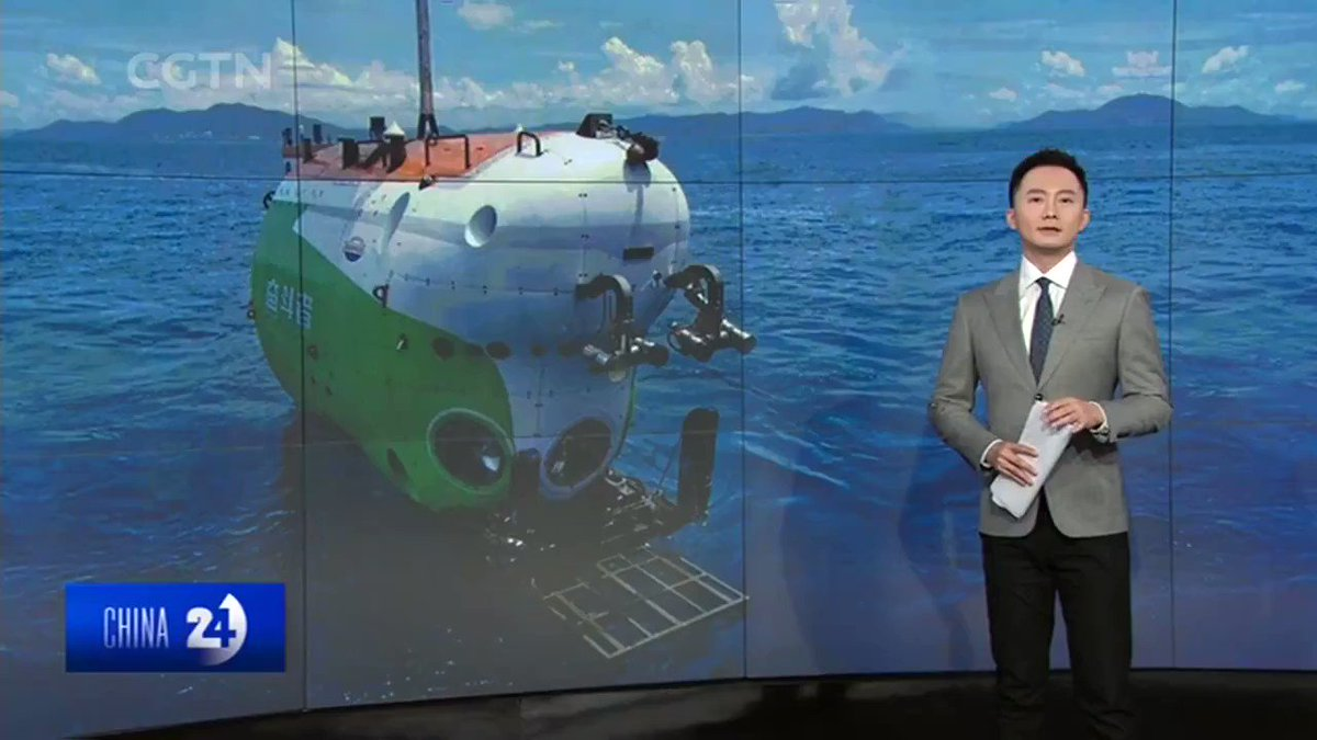 Chinese President Xi Jinping has sent a letter congratulating the crew of China's manned submersible, #Fendouzhe, also called as Striver, which has just returned to port after completing a 10-thousand meter sea trial.