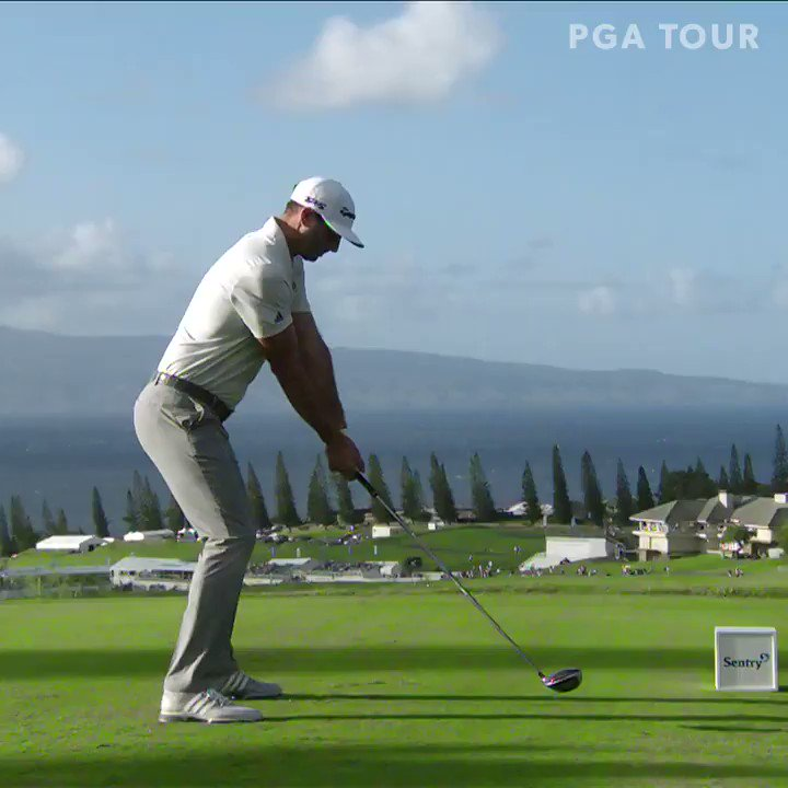 The sweet swing of @DJohnsonPGA. 😍  From every angle. 🎥
