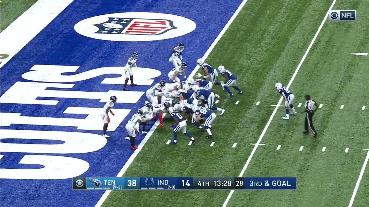 .@JBrissett12's second TD of the day!  📺: #TENvsIND on CBS 📱: NFL app // Yahoo Sports app:
