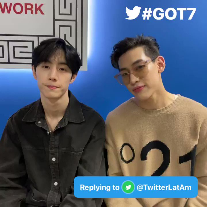 @GOT7Official Q: #AskGOT7 which Latin artist would you like to have a collaboration with? - @TwitterLatAm  A: