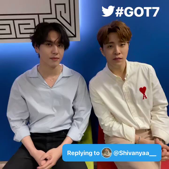 @GOT7Official Q: Who whisteled in Breath? & who came up with the idea of whistling because it sounds soo mesmerizing to ears!!!  #AskGot7 #GOT7 #GOT7_LastPiece @GOT7Official - @Shivanyaa__  A:
