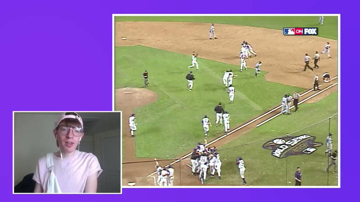 We all have to start somewhere ¯\_(ツ)_/¯  Enjoy these four baseball newbies reacting to some classic postseason moments in the newest MLB Original, Play That Back. https://t.co/aW0bruBTei https://t.co/MZZfaj8Nll