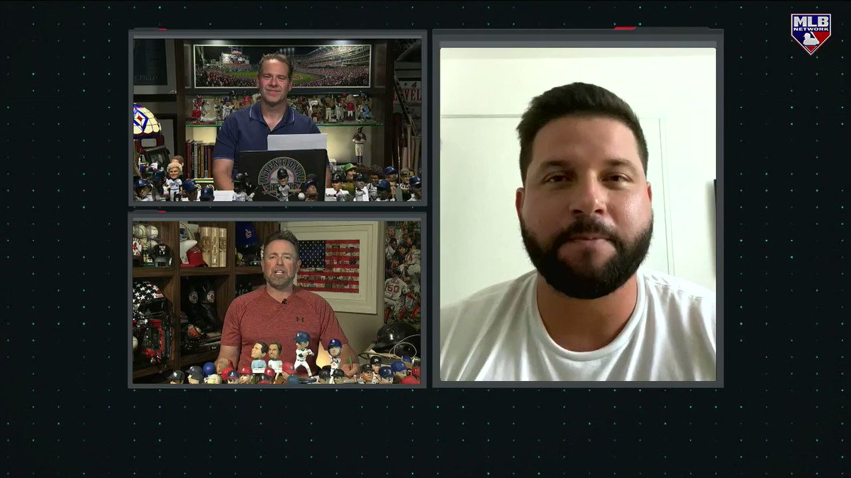 .@ChrisRose and @KMillar15 sent @YonderalonsoU off into retirement with some rapid fire questions! Watch the full chat here: atmlb.com/2JuPWiW