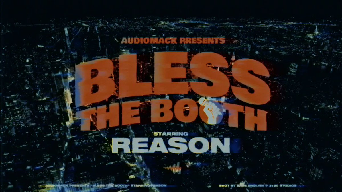 #BlessTheBooth is back and better than ever— now on #Audiomack. 🔶  #TDE rapper @reasonTDE kicks off the freestyle series' NEW SEASON and he doesn't disappoint.  WATCH ➡️
