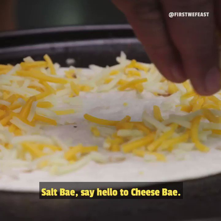 Watch out Salt Bae, Cheese Bae is coming for you 😂  #TheBurgerShow