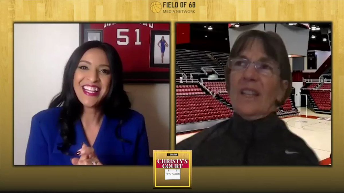 Tara Vanderveer joined @ChristyWScott51 on Christy's Court today!!!  Of course, Christy asked about the first time Tara saw Fran Belibi dunk. Because we had to know.  Christy's Court. In session.  SUBSCRIBE: @Spotify  @ApplePodcasts