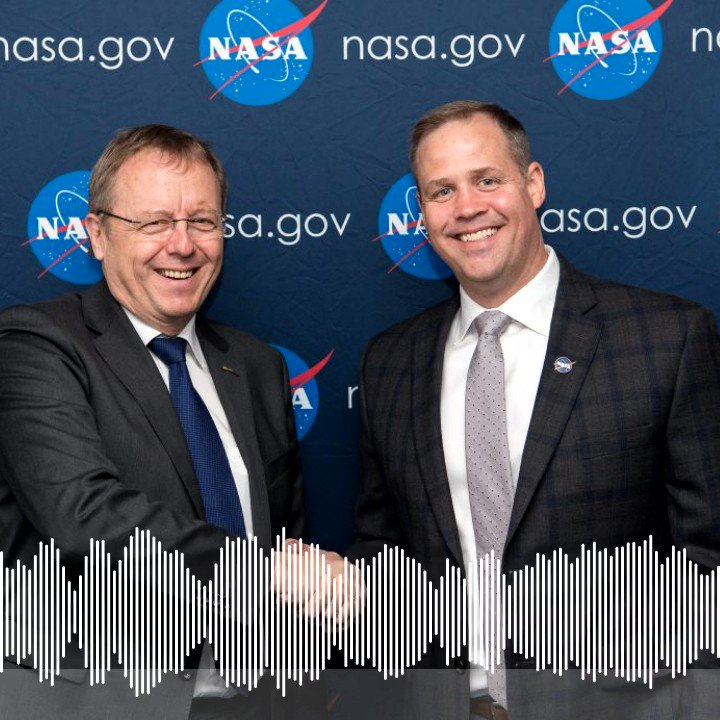 🎧 Were wrapping up a month of #SpaceStation20th celebrations with a special episode of the #ESAExplores podcast. @NASA Administrator @JimBridenstine & @esa Director General @janwoerner talk collaboration & the new space race as we look #ForwardToTheMoon fcld.ly/k54uknf