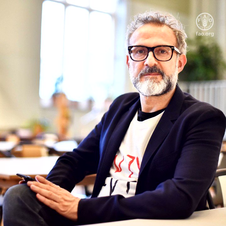 Join our Goodwill Ambassador @massimobottura & others for an @FAO discussion on the importance of reducing food loss and waste - now and forever - at 3 pm CET today:   There is no room for food loss and waste in this time of crisis.  #thinkeatsave #ActNow