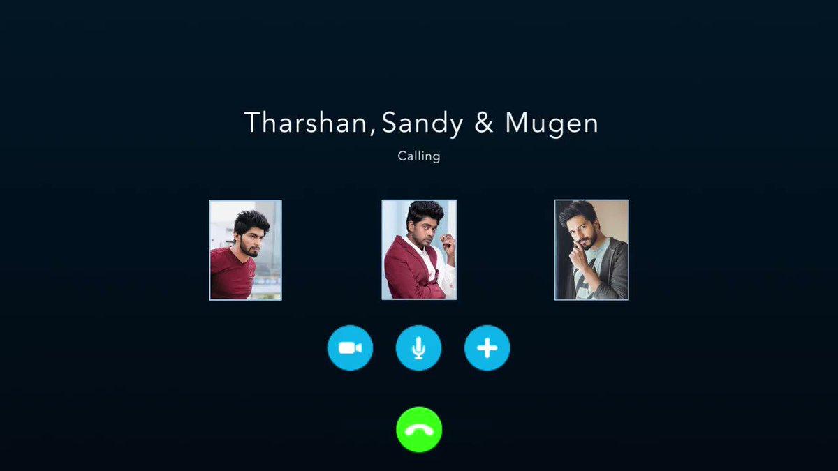From one trio to another, #TriplesTheFun continues!   @iamSandy_Off @themugenrao @TharshanShant @karthiksubbaraj @Actor_Jai @vanibhojanoffl @actorvivekpra @rajNKPK @namikay1  @CharukeshSekar @kalyanshankar @composer_vishal @balajitweets4u @editor_prasanna   #Triples