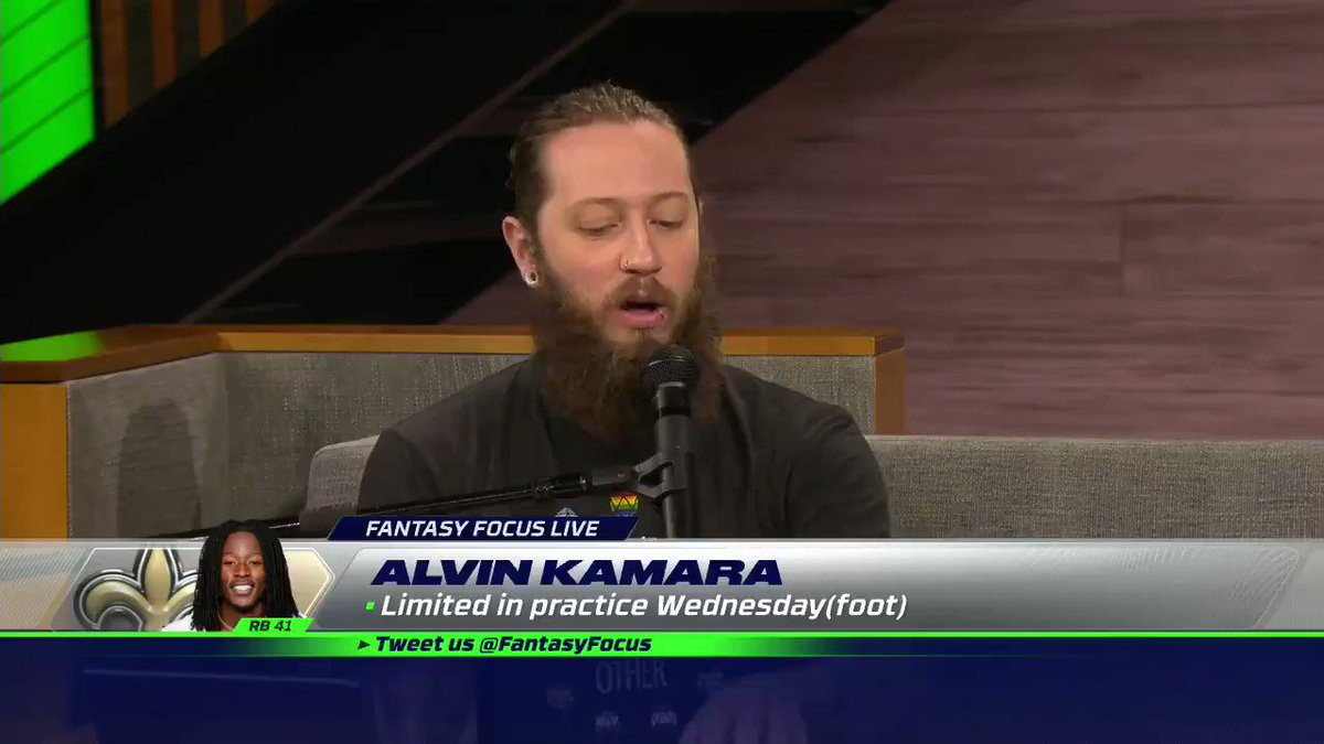 How should you feel about Alvin Kamara this week with Taysom Hill still at QB? @MikeClayNFL and @DanielDopp have you covered: