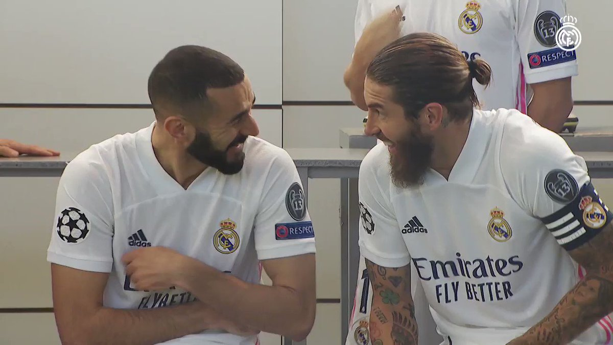 📸✨ Behind the scenes of our official team photo! #HalaMadrid | #RealMadrid