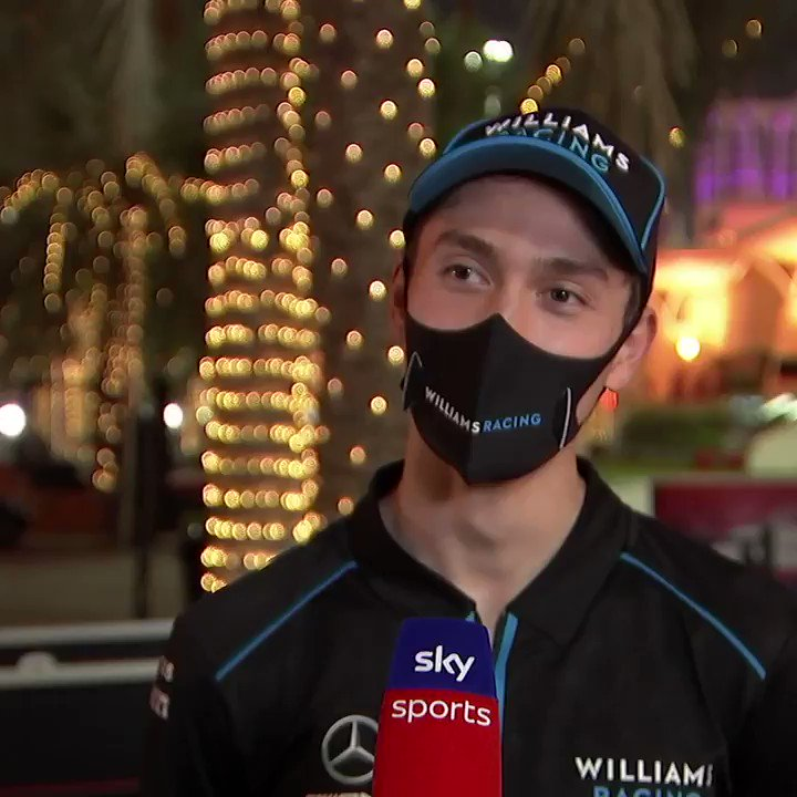 His first race in Formula 1! 🙌  Hear what Jack Aitken's expectations are for this weekend's #SakhirGP 🇧🇭  #SkyF1 | #F1