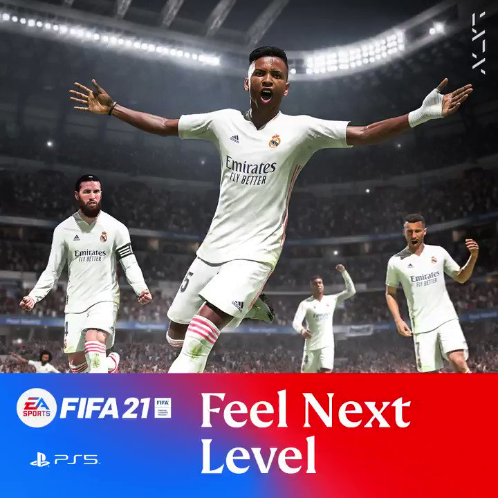 🔥 @RodrygoGoes showing off those big goal moments! 🔥  Feel #NextLevel in FIFA21 on next gen consoles now 👉  🎮 @EASPORTSFIFA 🎮