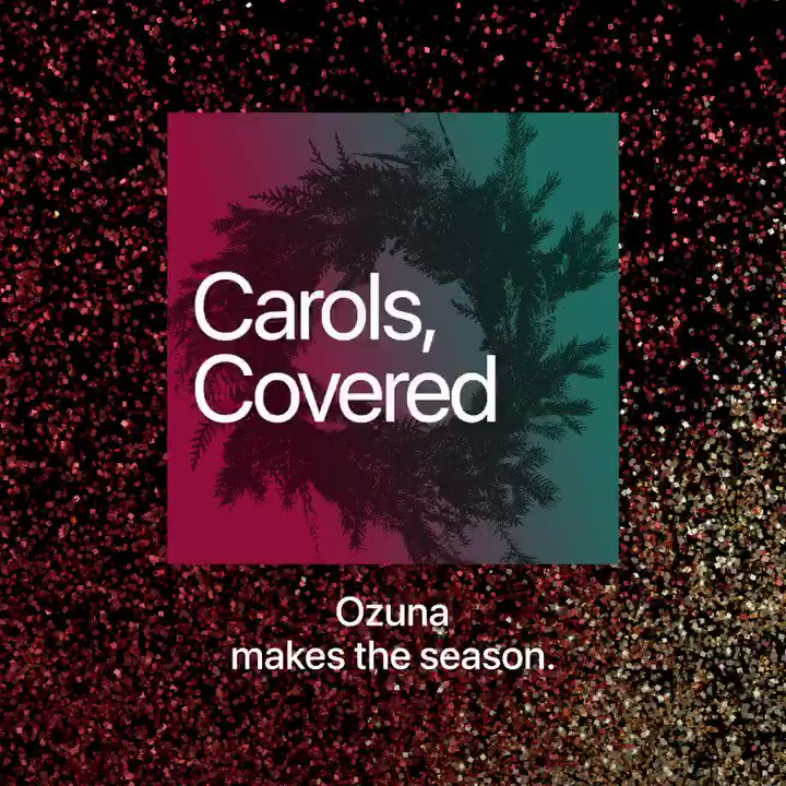 Check out the #CarolsCovered playlist, filled with exclusive holiday covers from some of your favorite artists:   Featuring: @ozuna  @beabad00bee  @giveon  @FivioForeign  @findingfletcher  @MickeyGuyton  @JaxJones  @jamesblake  @arloparks  @VictoriaMonet