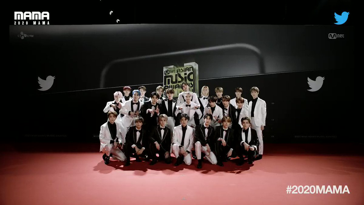 Replying to @MnetMAMA: [#2020MAMA_Stanbot] Say hello to #nct @NCTsmtown  #2020MAMA X #Twitter #Stanbot #Mnet