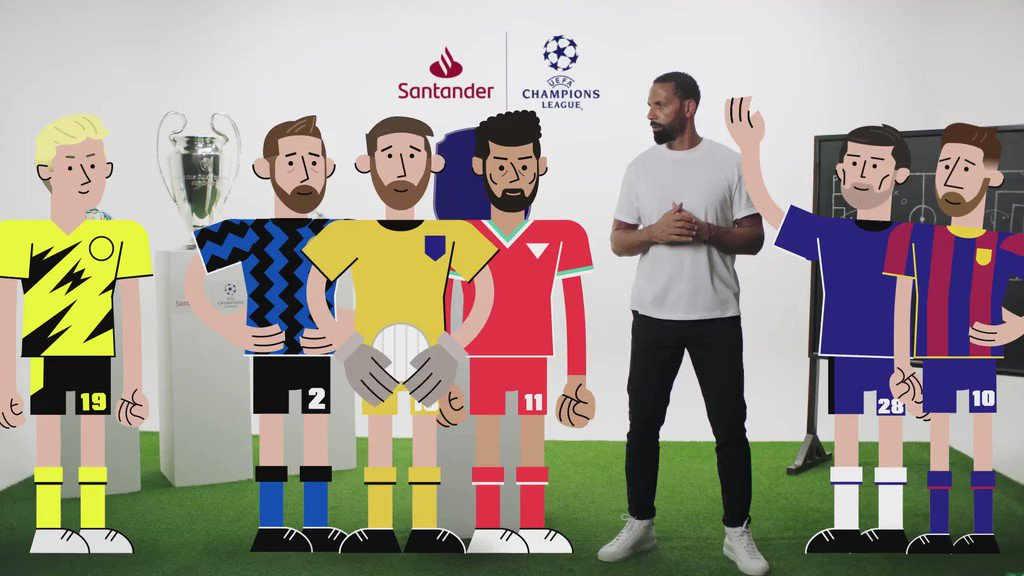 Maths + Football = The Numbers Game. Free easy to use UEFA #ChampionsLeague themed maths challenges for 5-14 years olds brought to you by England football legend @rioferdy5 and @twinklresources. Available for free download here.