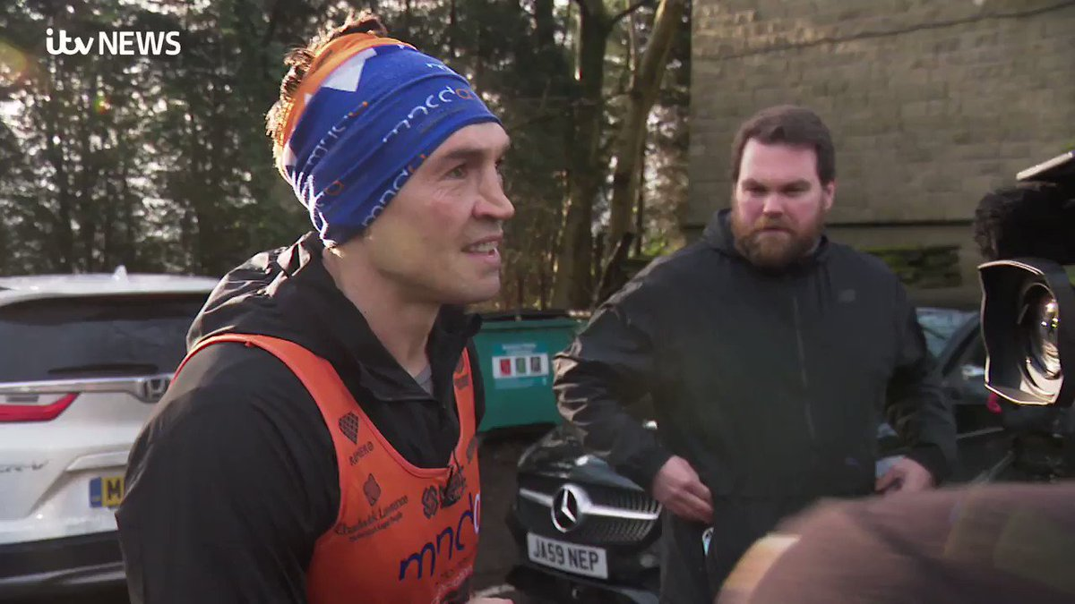 'Would I do it again? In a heartbeat. that's what friends do'  WATCH: Kevin Sinfield has raised over £1.2m after completing seven marathons in seven days for former teammate and close friend @Rob7Burrow and the Motor Neurone Disease Association. https://t.co/jvIHLVJeZL