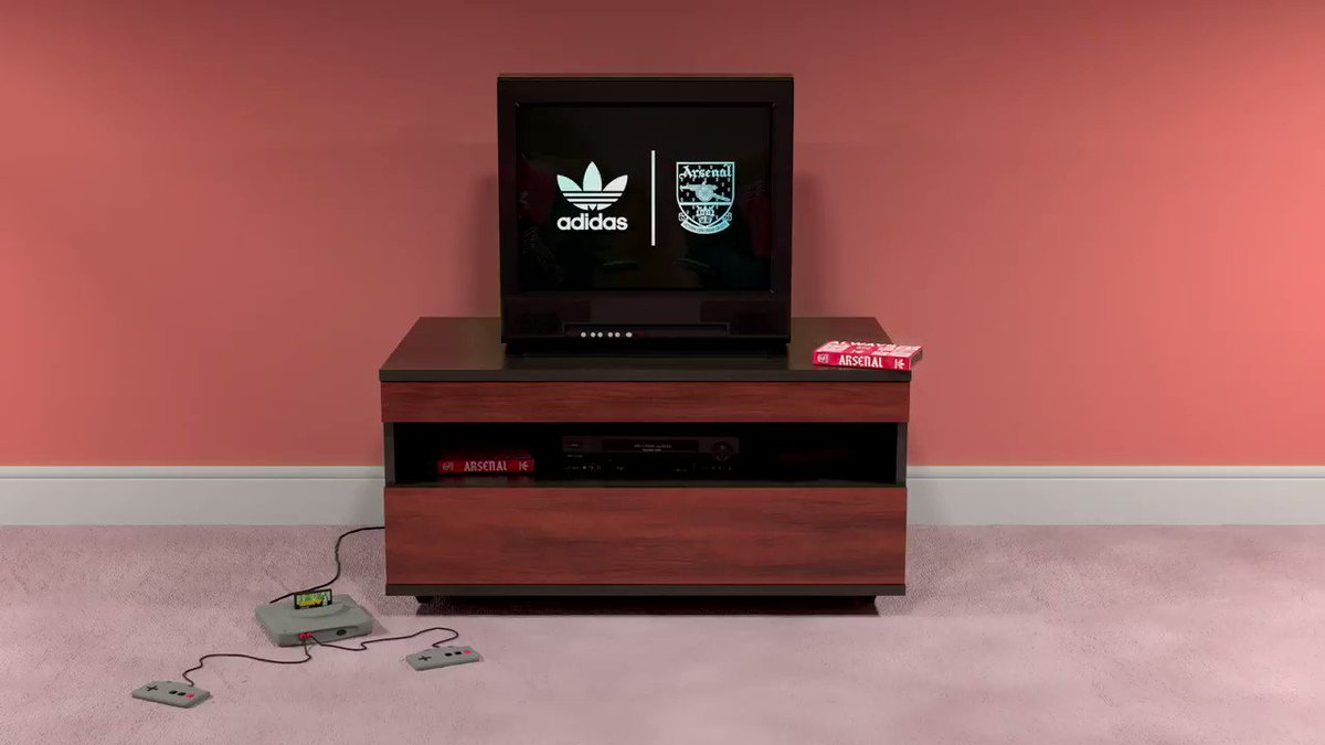 Then and now, always original.📺 Bringing back the @arsenal x @adidasoriginals collection, available December 15th through adidas, official club stores, and select retailers.